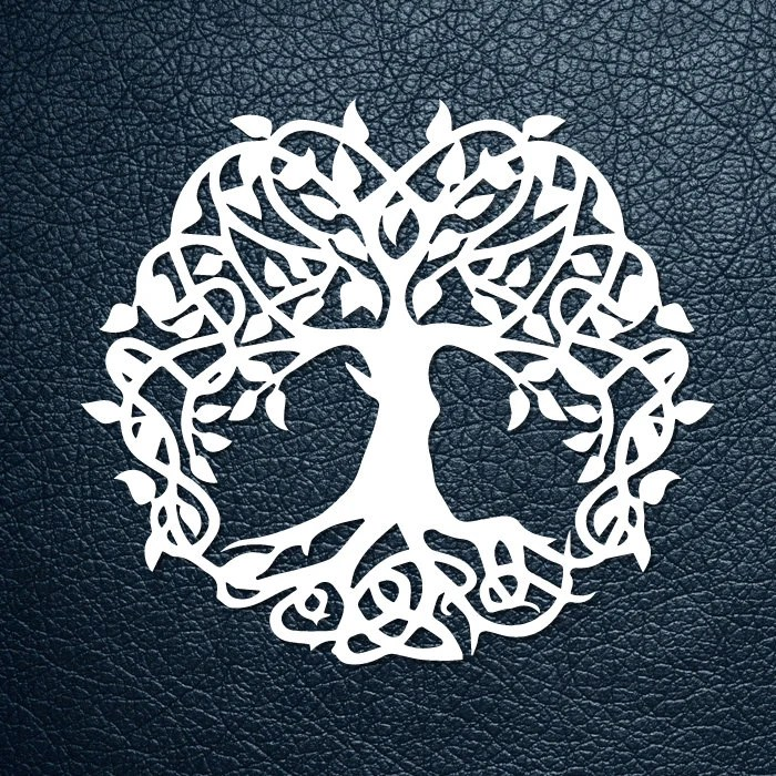 SVG / PDF cut file Paper Cutting Template tree of life Etsy