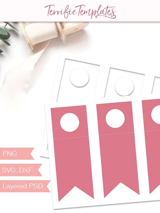 Water bottle hang tag template party printable craft Etsy