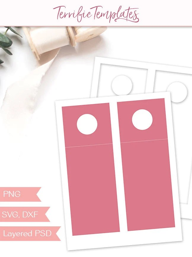 Wine bottle hang tag template party printable craft template Etsy