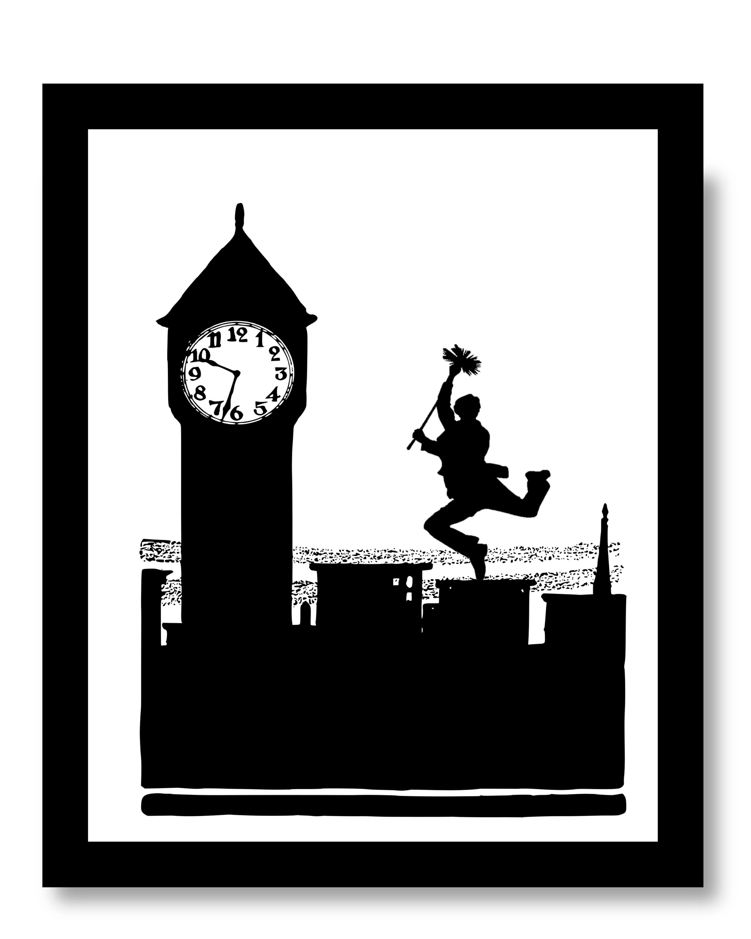 Mary Poppins Cheminée Bert Mary Poppins Mary Poppins Print Mur D Impression Mary Poppins Cheminée Balayer Bert Ramoneur Mary Poppins Decor Mary Poppins Imprime