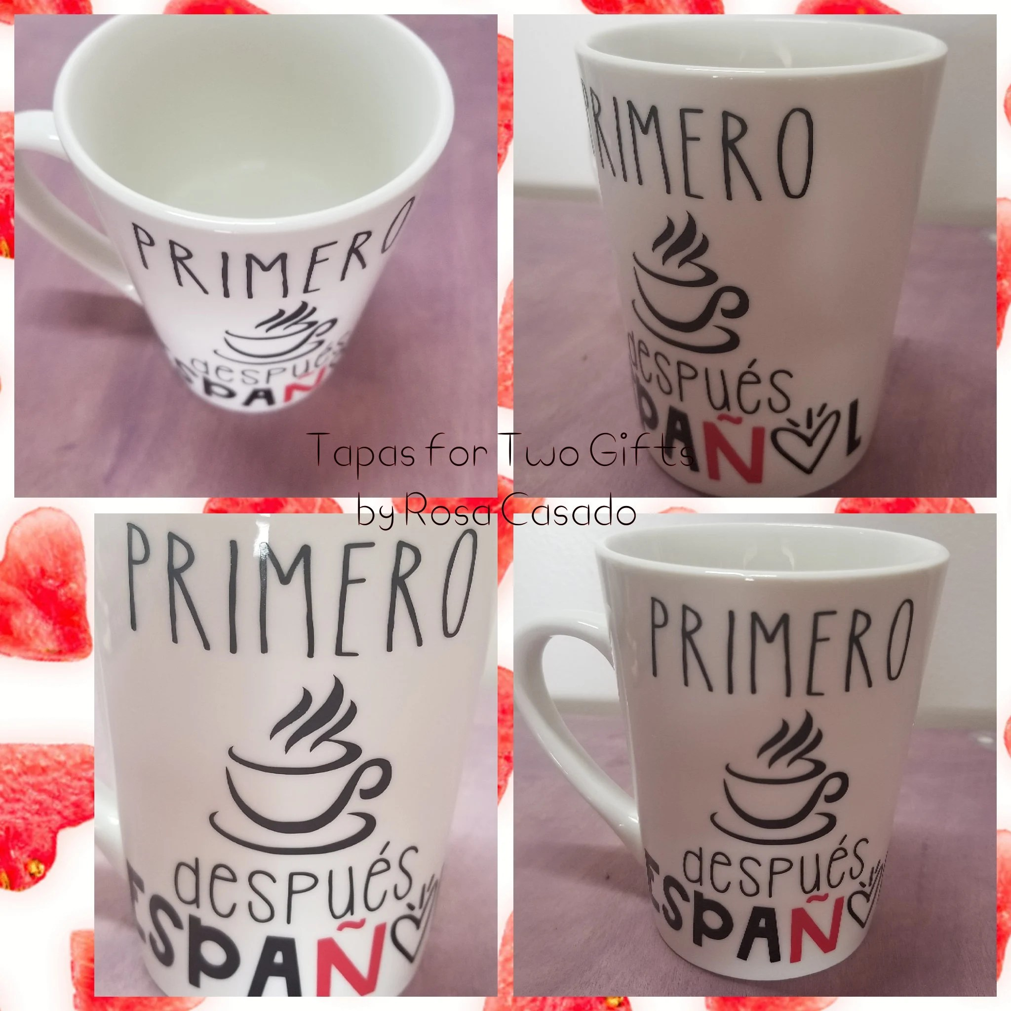Mug A Cafe Spanish Teacher Coffee Mug Primero Cafe Despues Espanol Teacher Mug Spanish