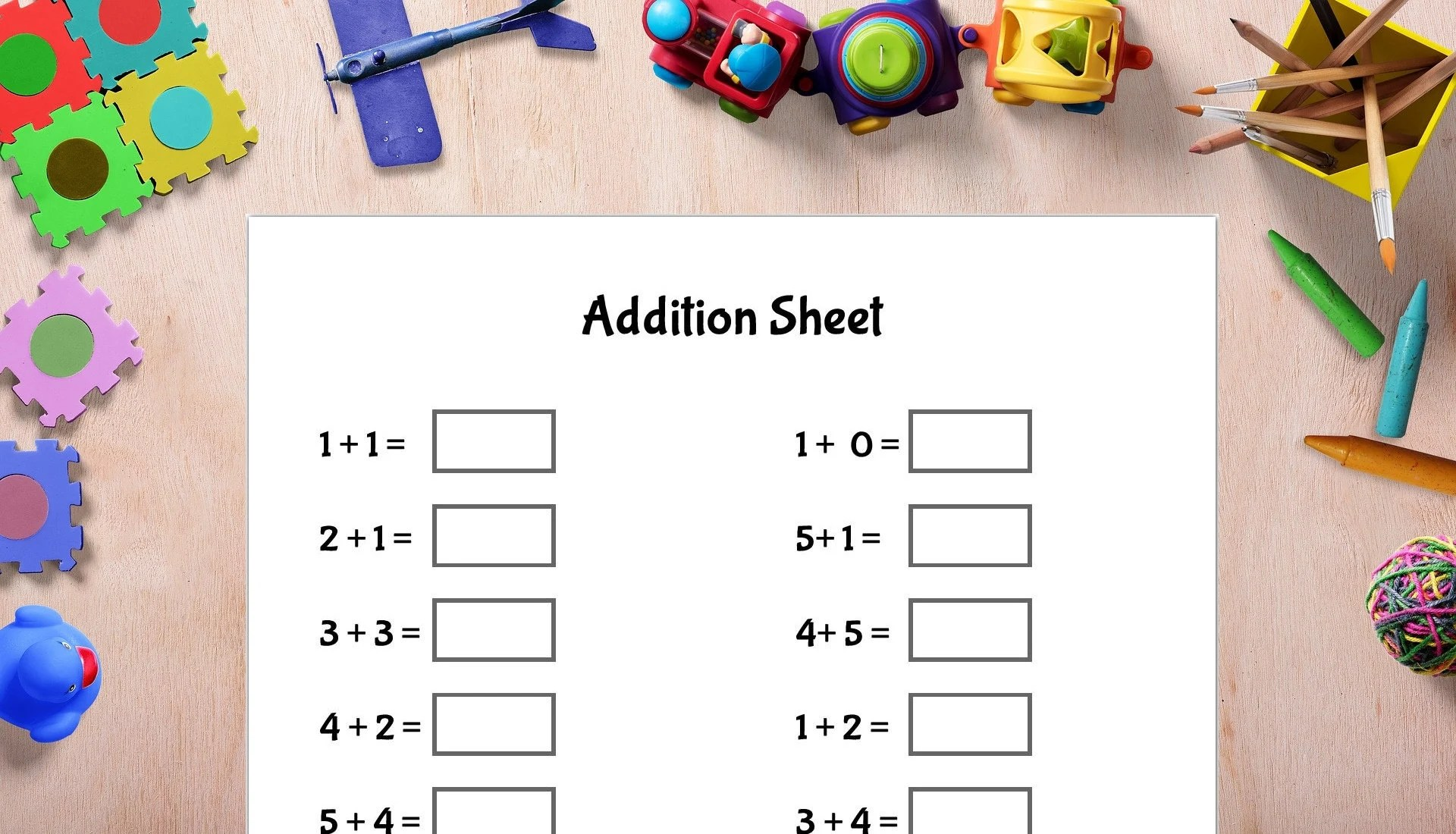 Math Sheets Printable Addition Table Subtraction Etsy - subtraction table
