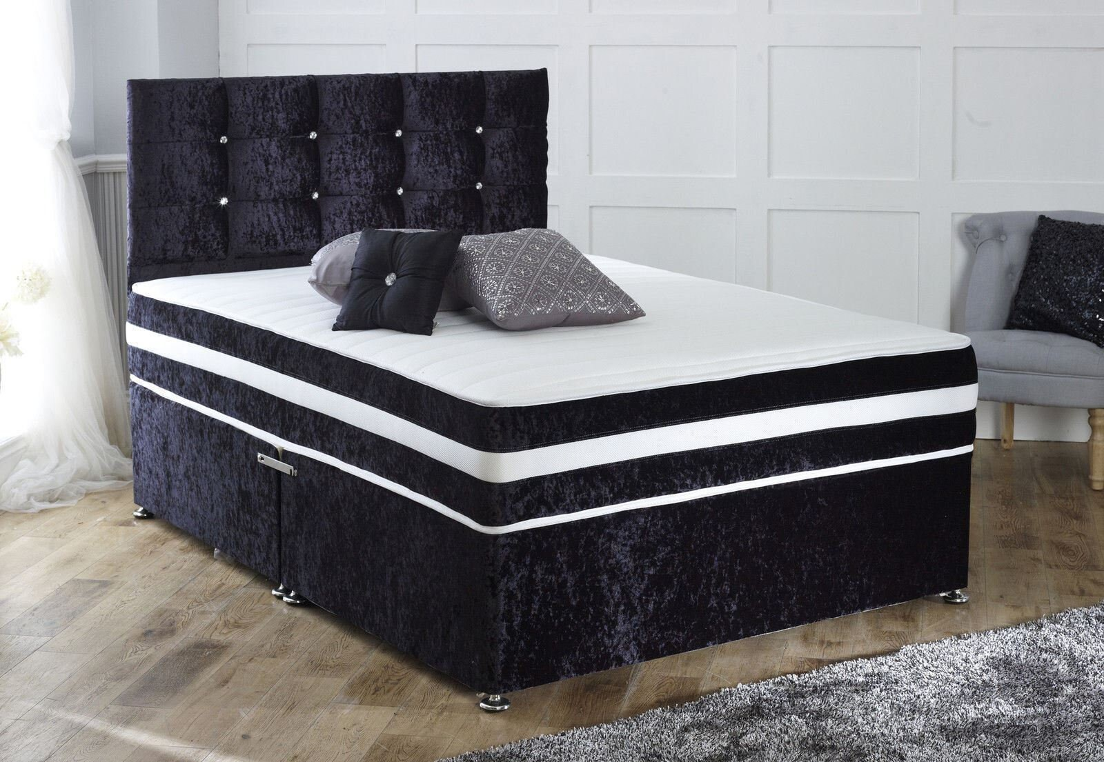 Divan Bed And Mattress Deals Storage Prestige Cuba Divan Bed 24