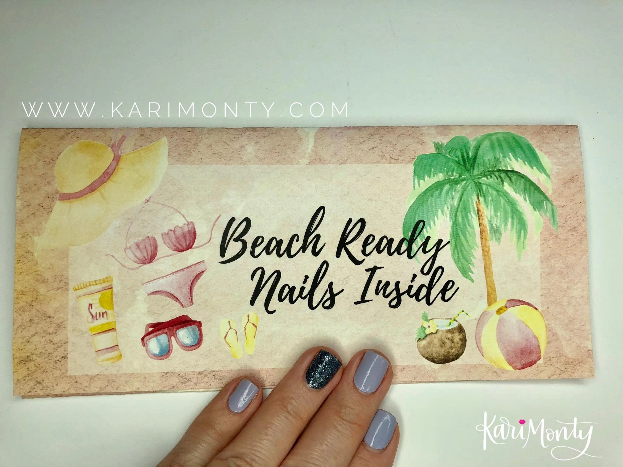 Color Street Nail Polish Strips Summer Gift Envelope Etsy