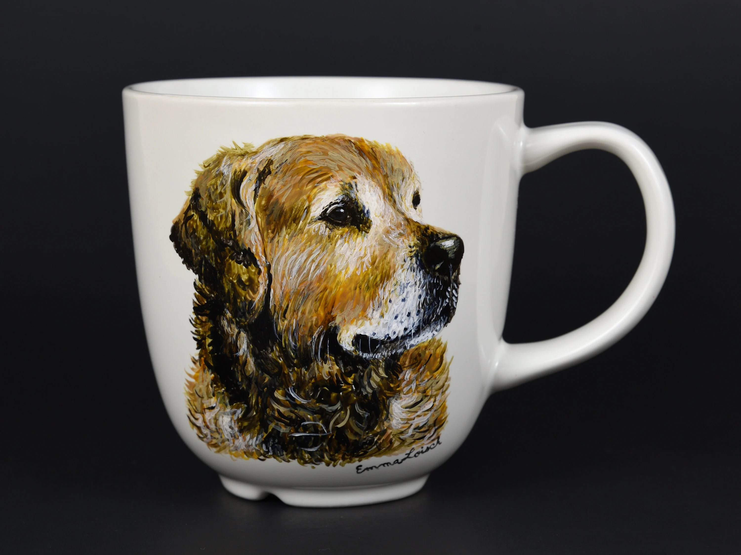 Animal Coffee Cups Customized Mug Hand Painted From Your Photo Ceramic Coffee Cup Animal Coffee Cup Personalized Coffee Cups Tiger Cup Amur Tiger Cat
