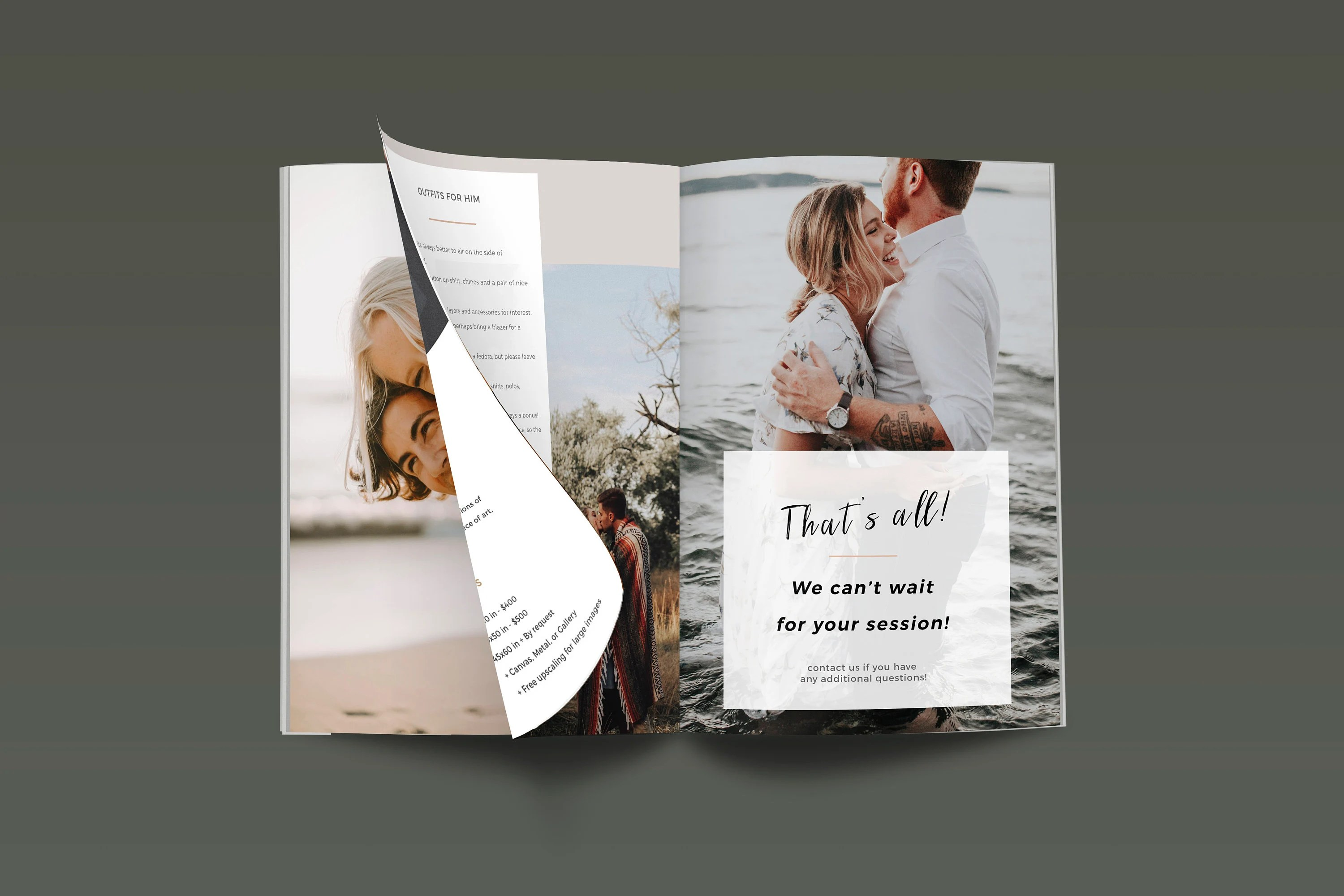 Engagement Style Guide Template Photography What to Wear Etsy