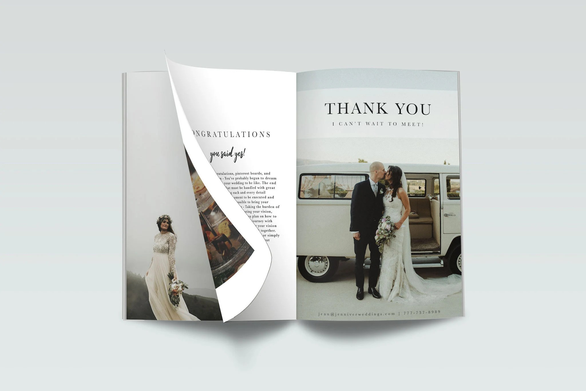 Wedding Pricing Guide Template Client Guide Magazine Wedding Etsy