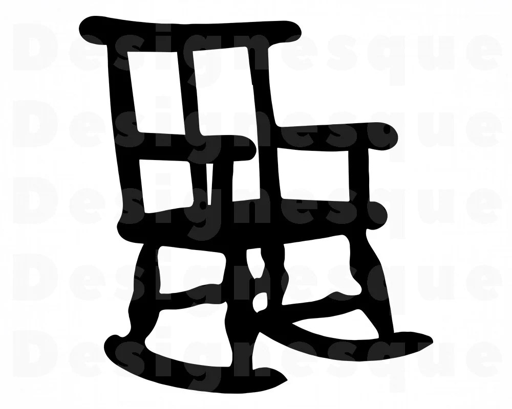 Mexico Chair Schaukelstuhl Rocking Chair Svg Rocking Chair Clipart Rocking Chair Files For Cricut Rocking Chair Cut Files For Silhouette Dxf Png Eps Vector