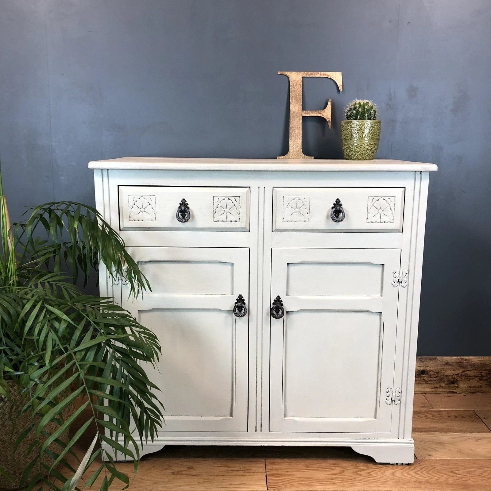 Sideboard Shabby Chic Vintage Shabby Chic Sideboard Furniture Upcycled Rustic Painted