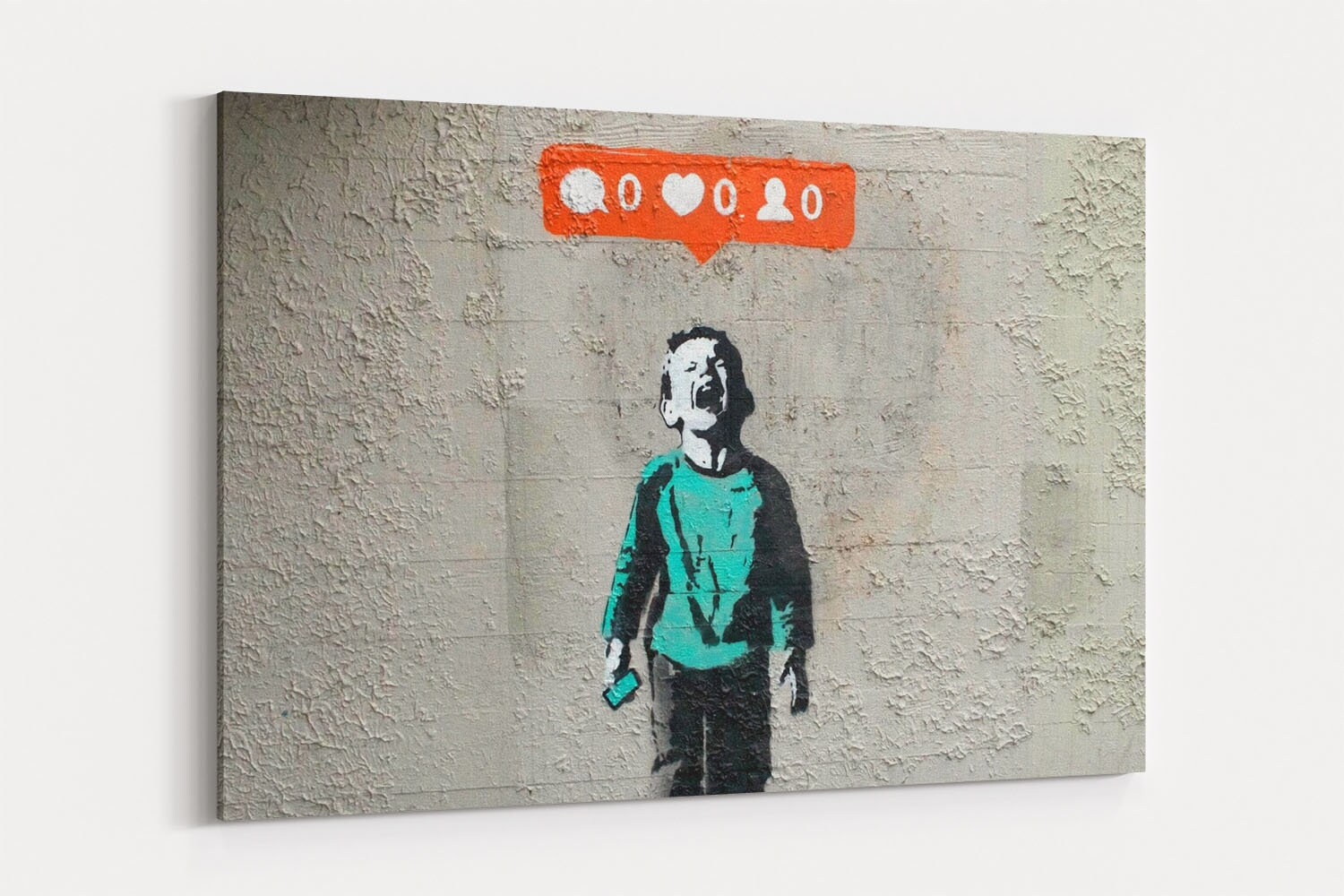 Banksy Canvas Art Nobody Likes Me Games Banksy Street Art Canvas Wall Art Banksy Graffiti Canvas Prints Canvas Art Painting Wall Decor Artwork Decal