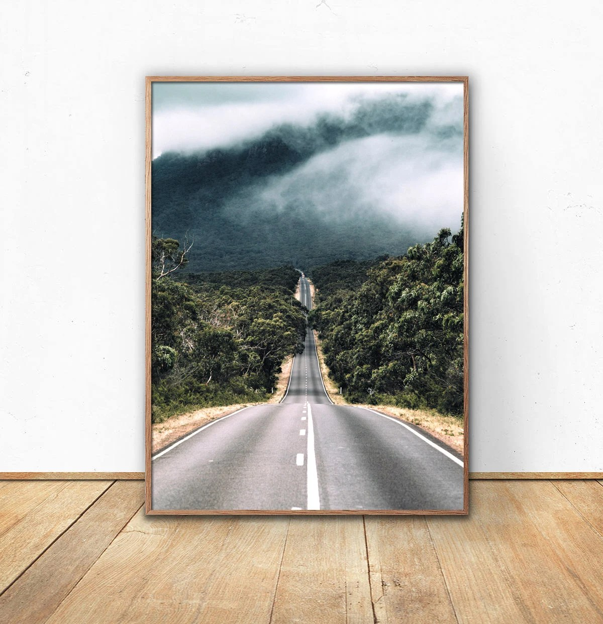 Poster 40x50 Road Printed Poster Route Photo Photography Posters Art Print Decoration Home Wall Forest 50x70 70x100 30x40 40x50 A3 A4 16x20 18x24 20x28