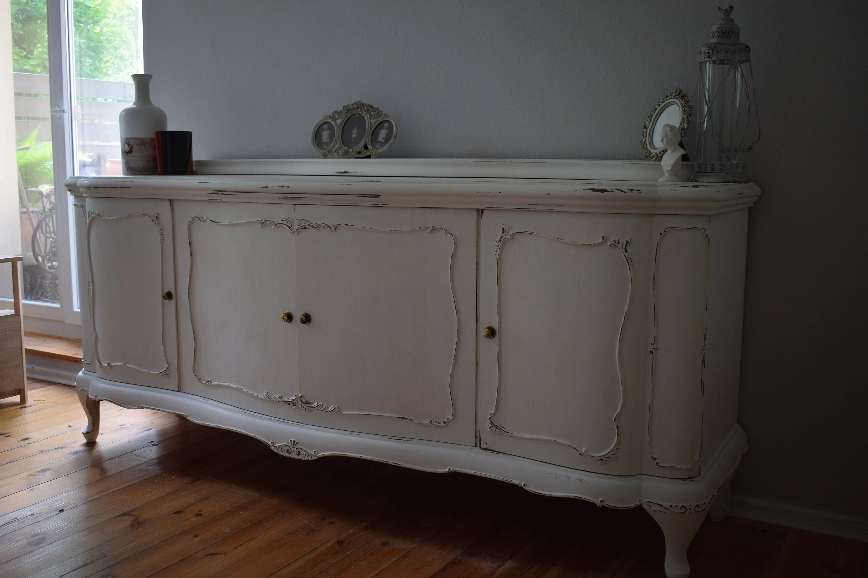 Tv Schrank Upcycling Shabby Chic Countryhouse Retro Upcycling Sideboard Chippendale Commode