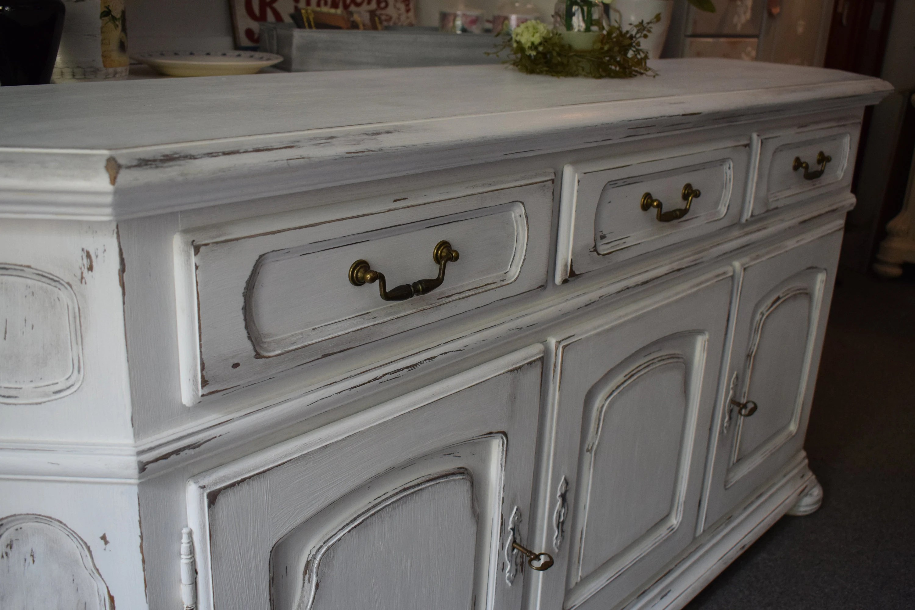 Tv Schrank Upcycling Shabby Chic Countryhouse Upcycling Retro Dresser Sideboard