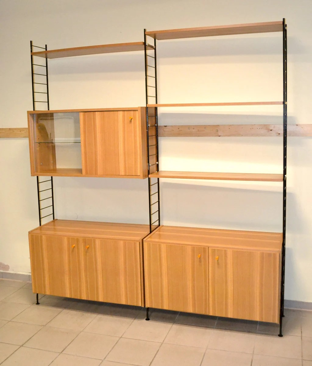 String Regal Ddr Oem Shelving System Sybille 70s Ddr Shelving Cabinet Design Vintage Furniture Shelf Closet Secretary Mid Century String Whb 1970 Shabby 60s