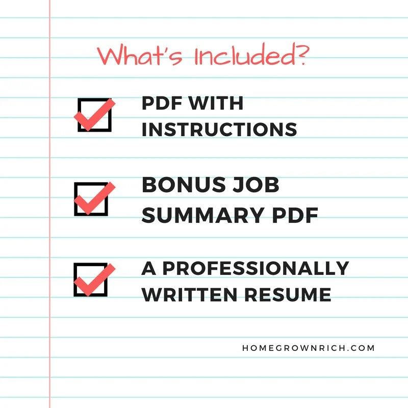 RESUME WRITING SERVICES resume tips resume templates job Etsy