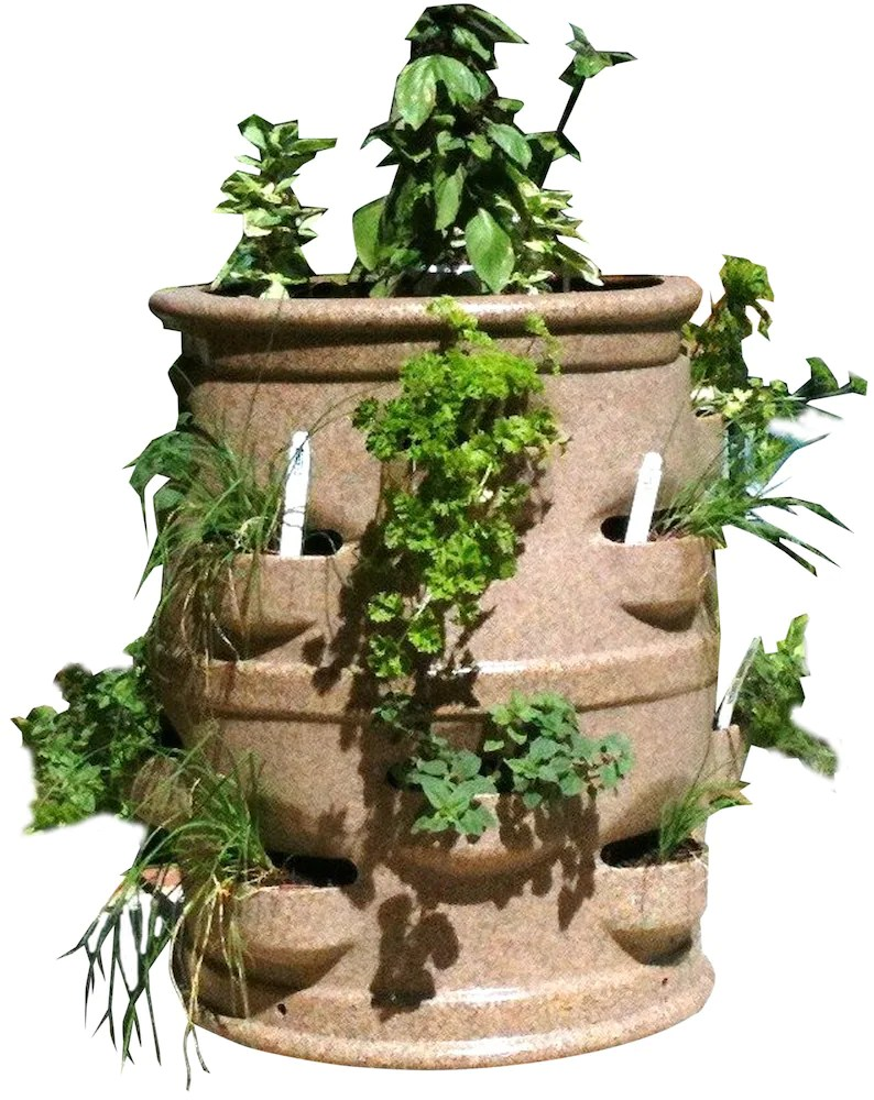 Planter For Herbs Multi Pocket Vegetable Planter Herbs Strawberries Vegetables Flowers Planter Container Gardening