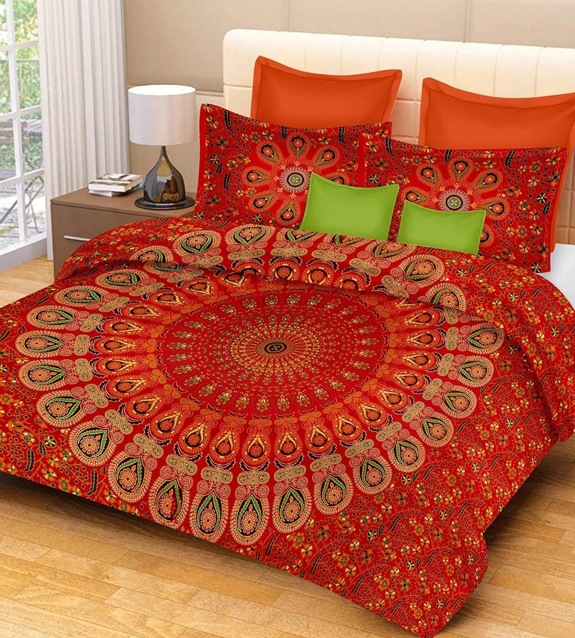 Boho Quilt Covers Australia Queen Or King Size Mandala Duvet Cover Boho Quilt Cover With Pillow Cases Doona Cover Bohemian Handmade Reversible Bedding Cover Set