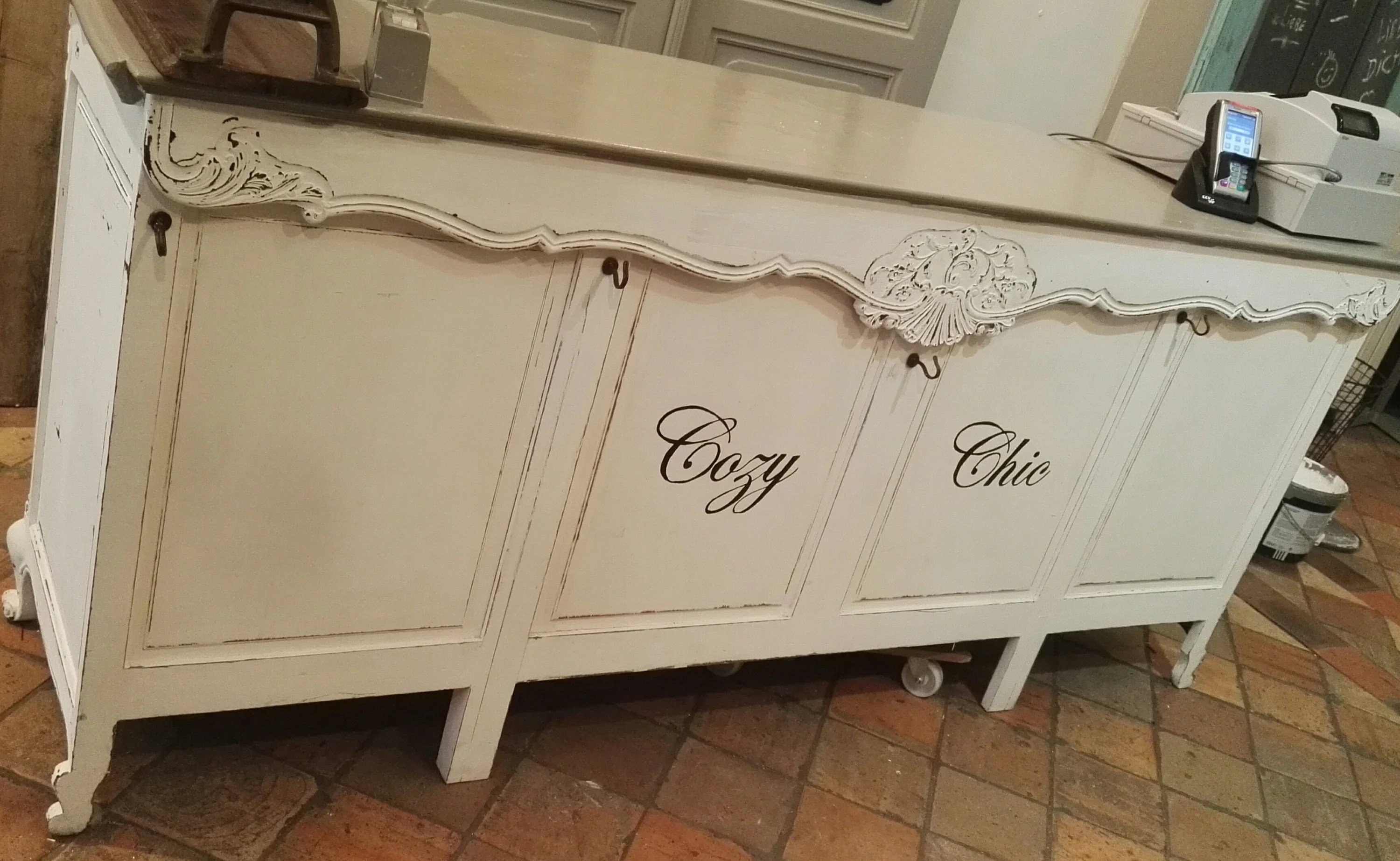 Ladentheke Vintage Vintage Shabby Chic Counter