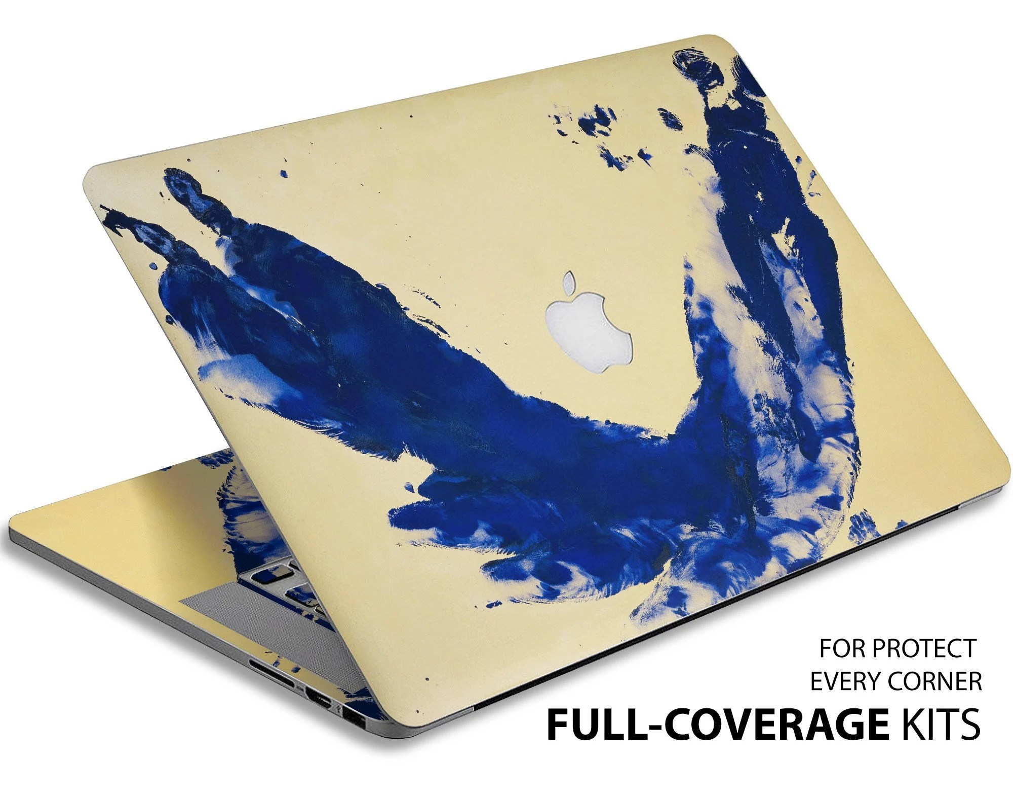 Notebook Klein Painting Yves Klein Anthropometry Abstract Laptop Skin Princess Helena Macbook Cover Decal Nature Macbook Decal Macbook Pro Skins Mac Skins