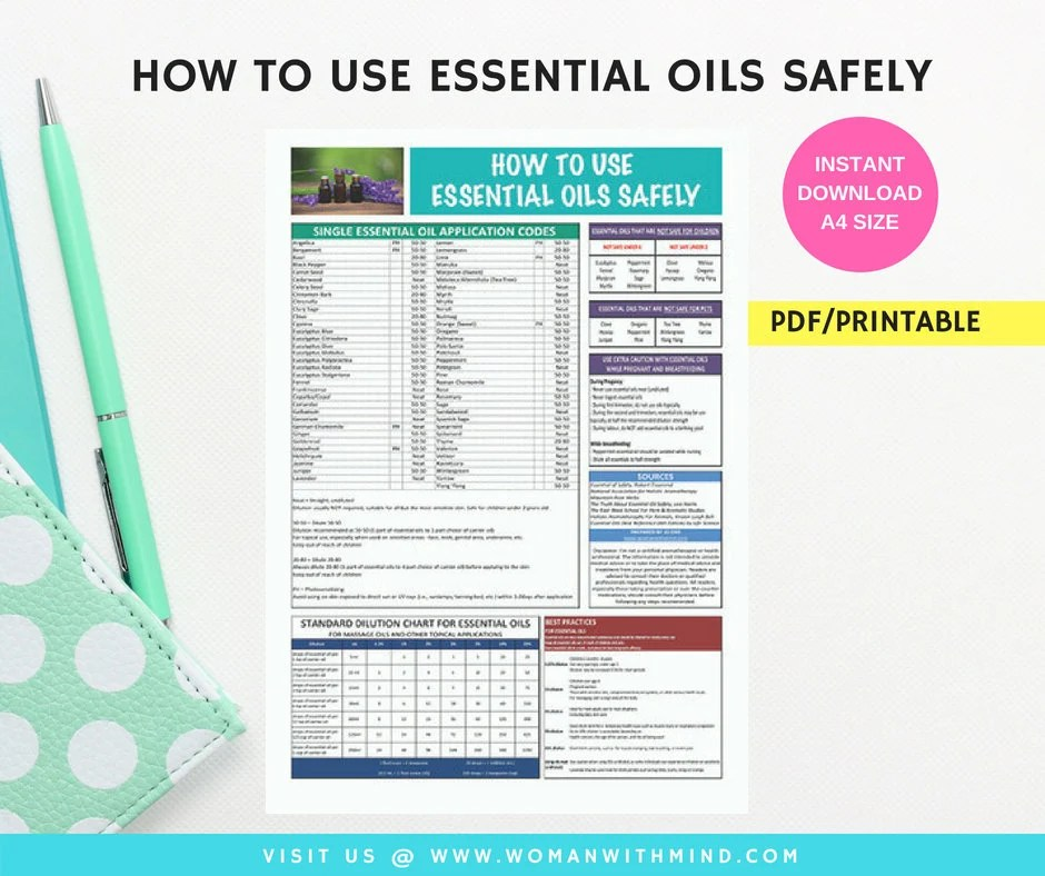 How To Use Essential Oil Safely Etsy