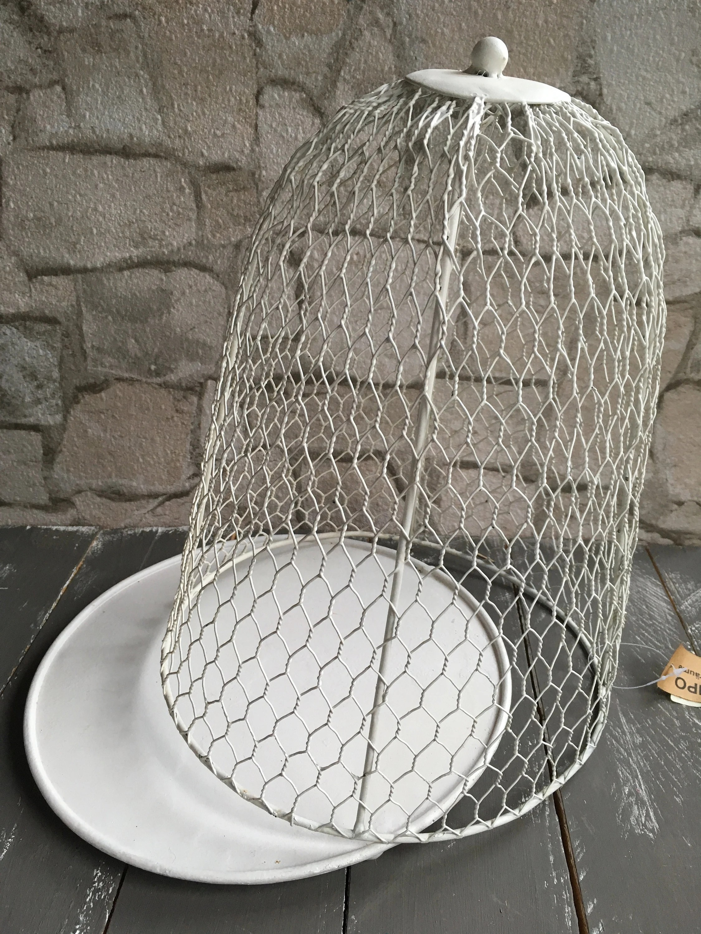 Shabby Chic Cuxhaven Wire Bell Vintage Shabby Large