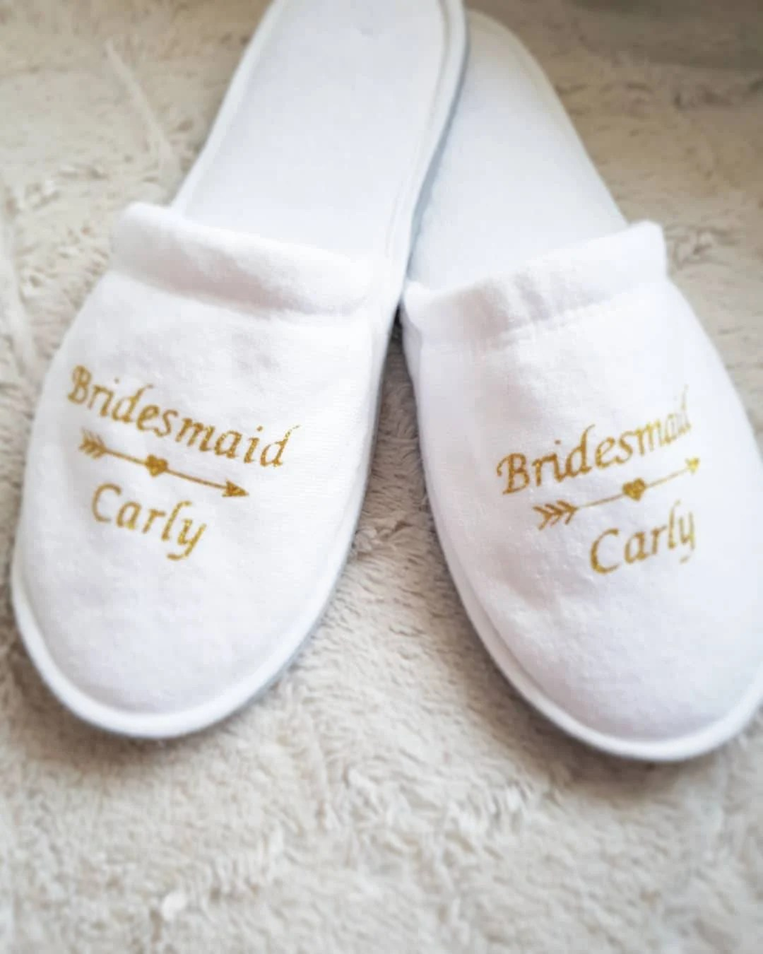 Baby Hotel Slippers Personalised Slippers Not Disposable