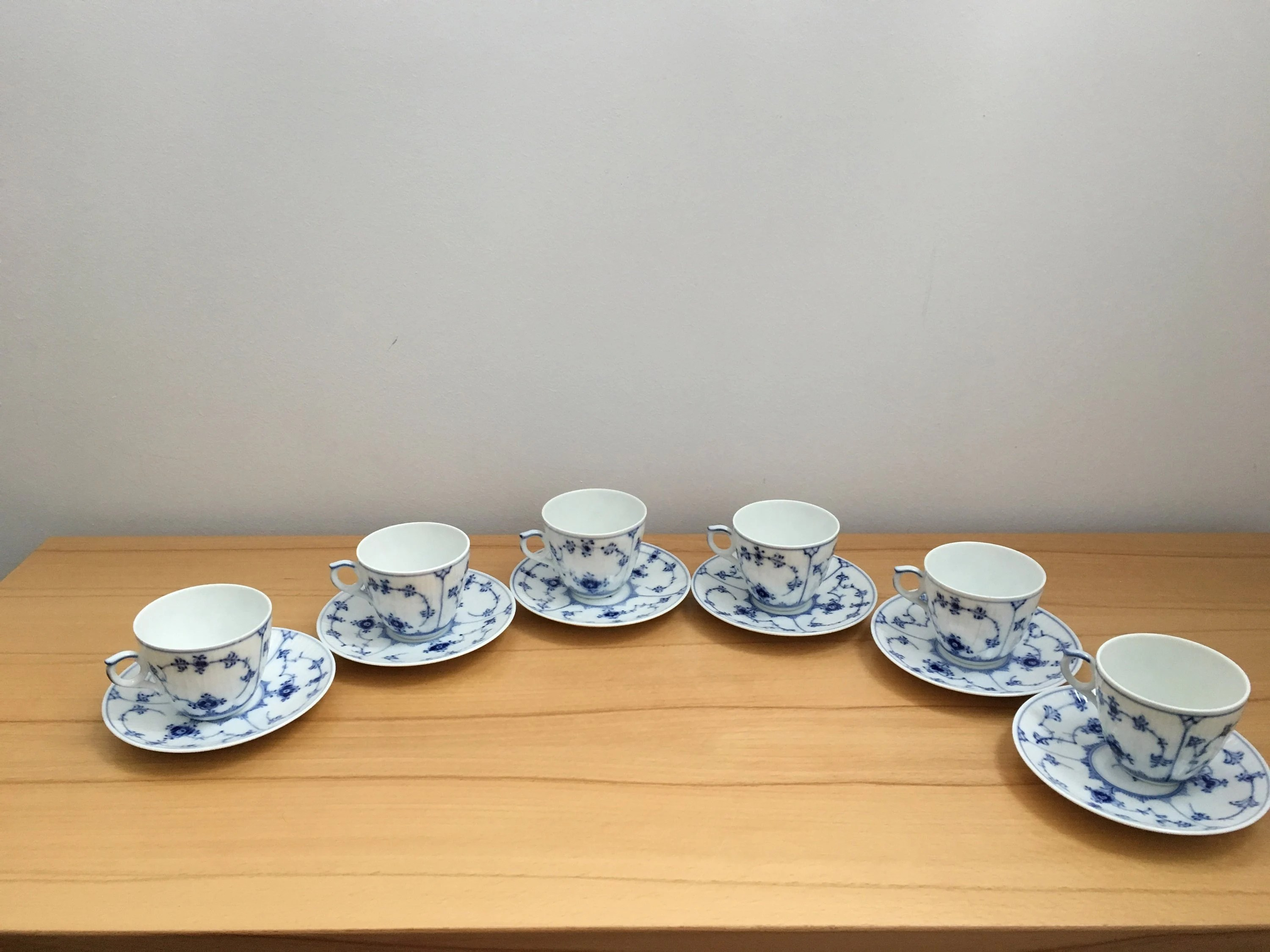 Royal Copenhagen Geschirr Royal Copenhagen Blue Fluted Coffee Cup And Saucer Plain Espresso Cup Danish Vintage Porcelain Musselmalet Cup And Saucer Denmark