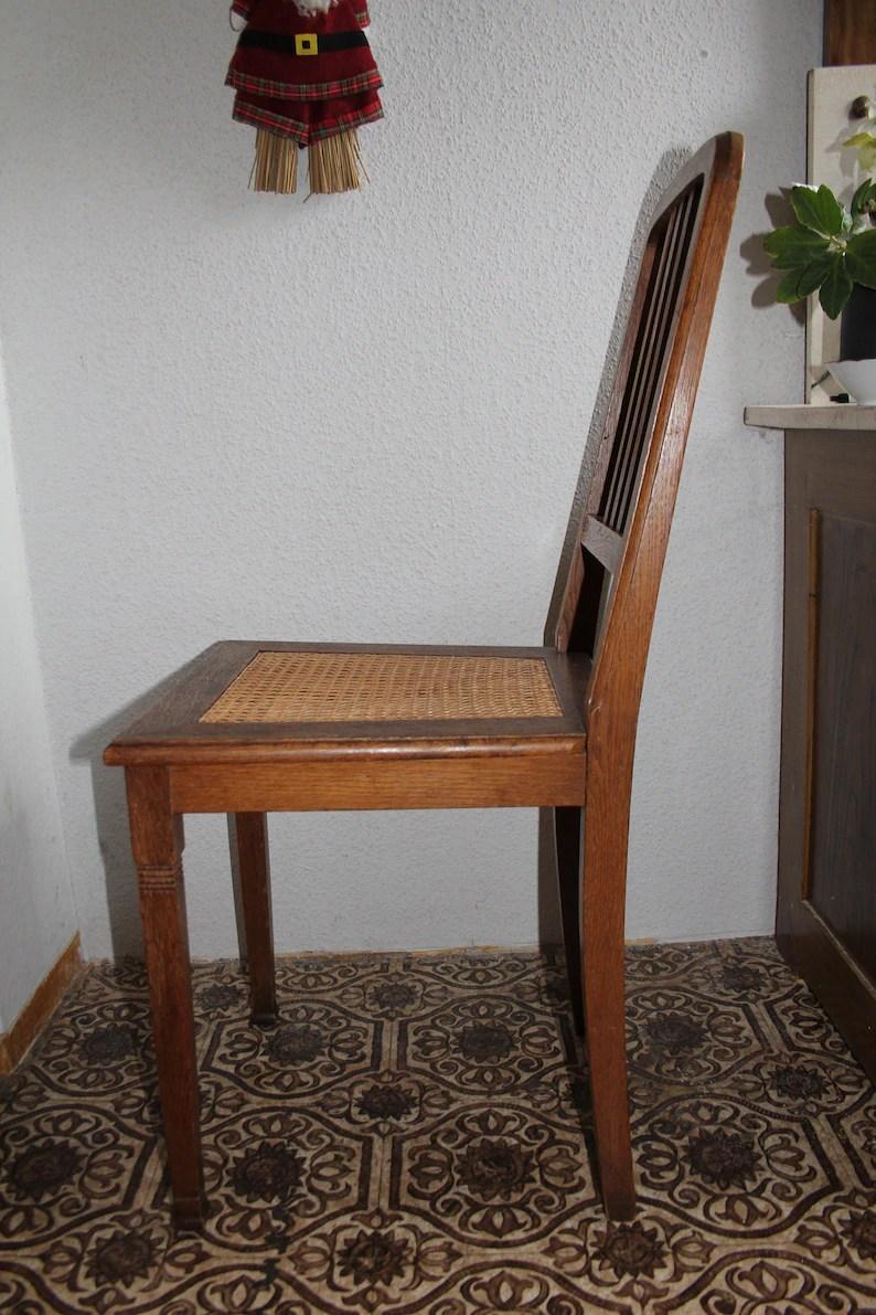 Antiker Stuhl Gründerzeit