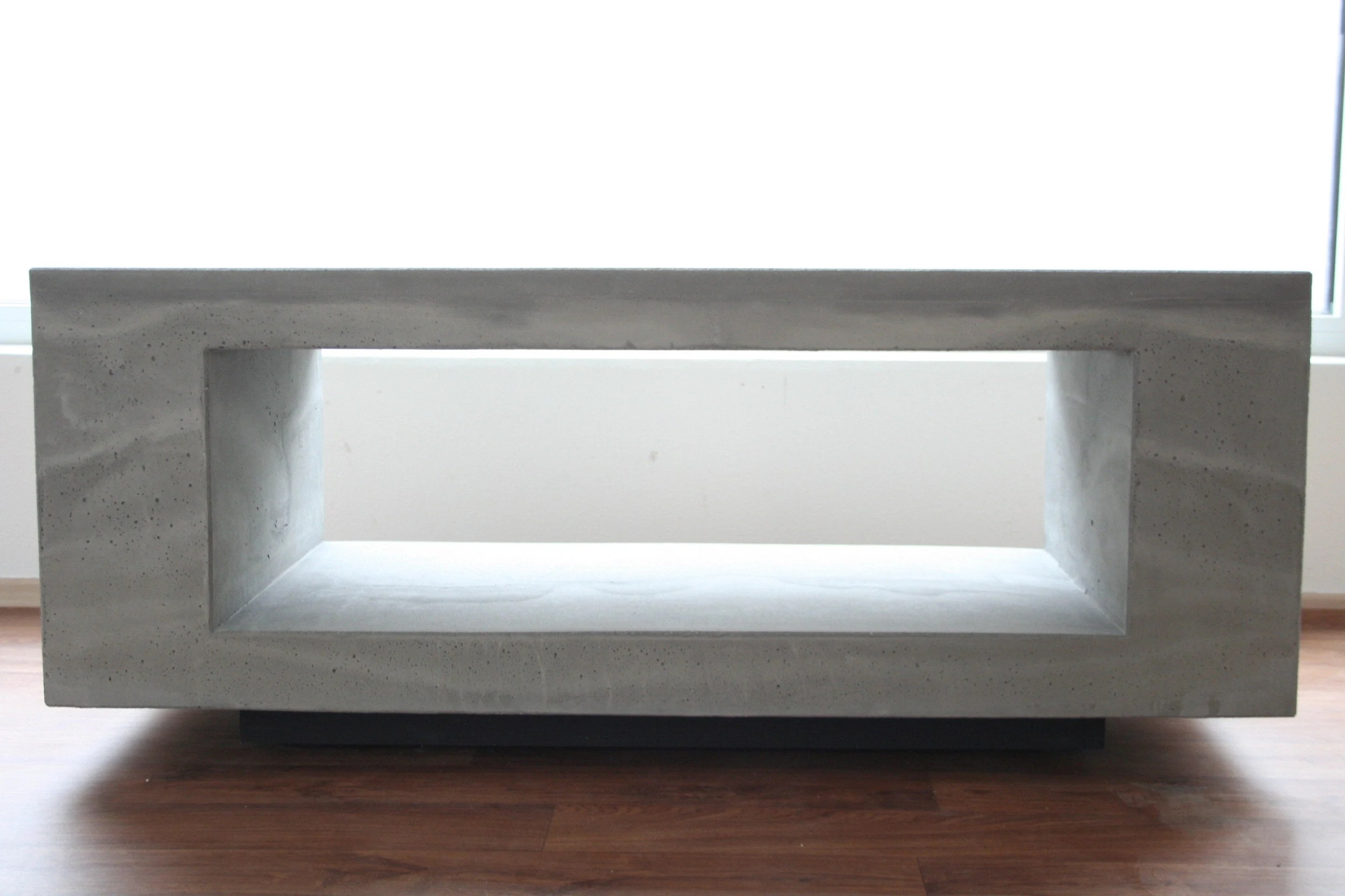 Tv Board Lowboard City Concrete Lowboard Sideboard Tv Board Bench Rack Mono Design Stone Marble Grey Anthracite Pickup Only Possible