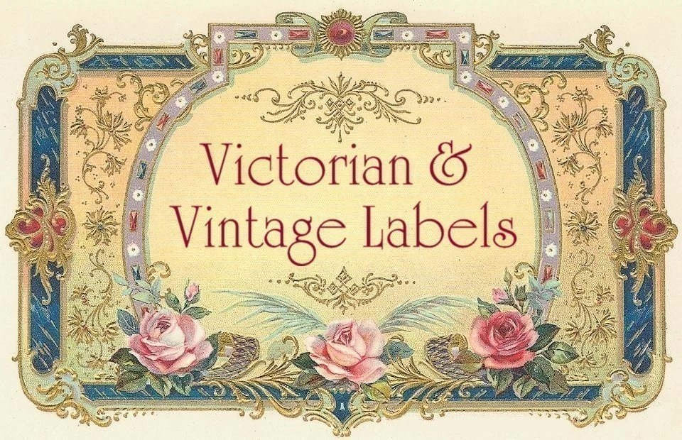 600 BLANK LABELS DIGITAL vintage style Victorian tags Labels Etsy
