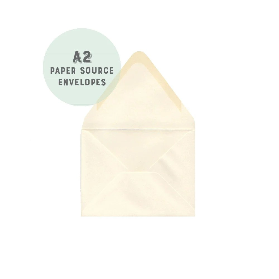 Soft White Envelopes A2 4 3/8X5 3/4 size Euro flap Etsy