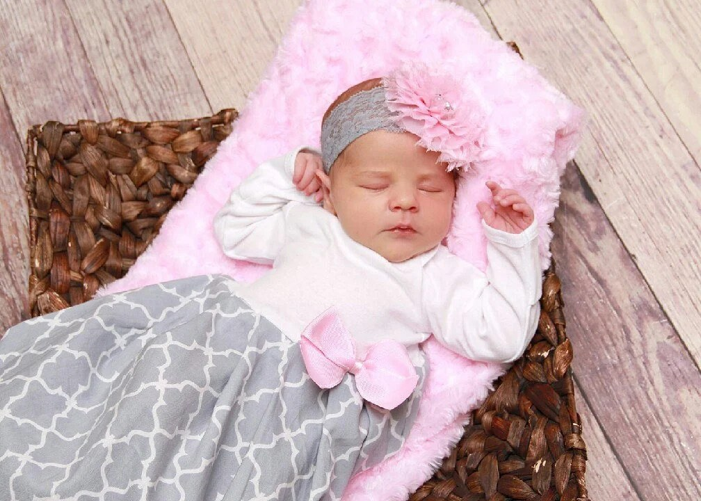 Baby girl clothes Baby layette pink coming home outfit Etsy