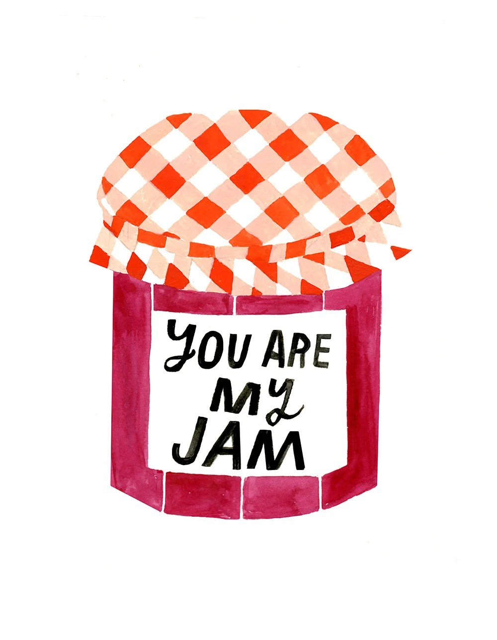 Amore Poster Amore Kunstdruck Love Poster Typografie Poster Avec You Are My Jam Art Print