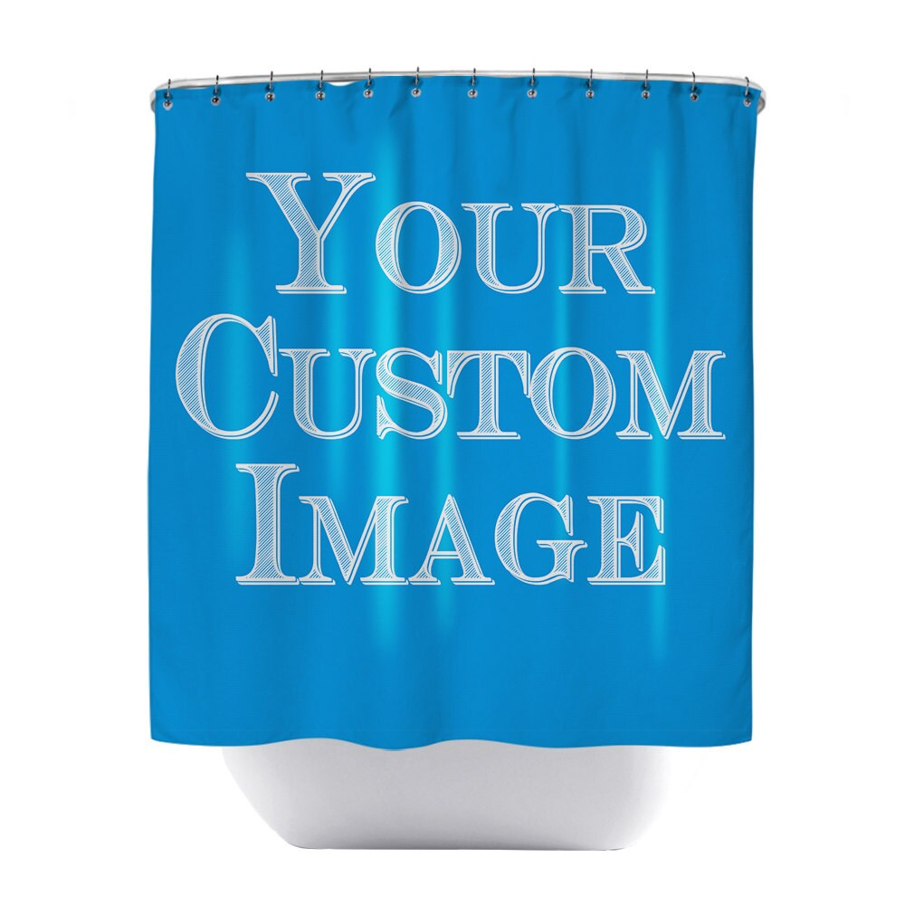 Usa Shower Curtain Custom Shower Curtain Custom Curtain Personalized Shower Curtain Custom Image Custom Backdrop Custom Photograph Printed In Usa