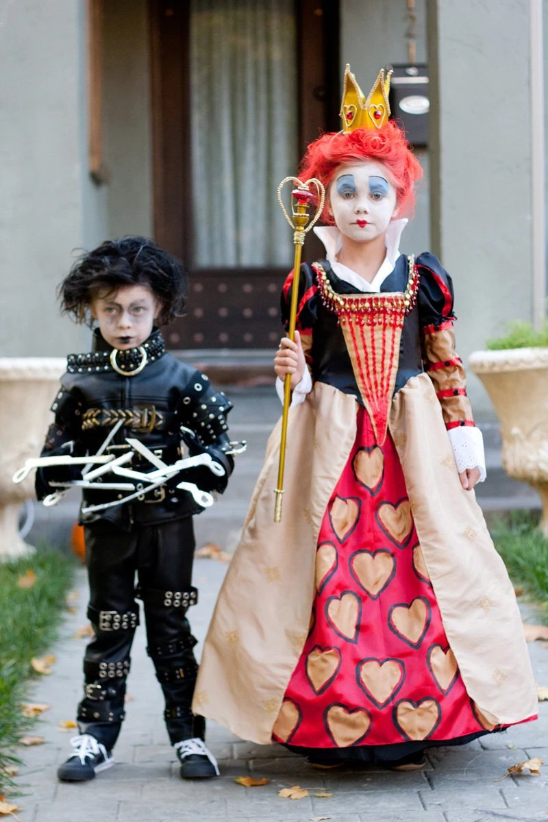 Halloween Kostüme Kinder Toys R Us Tim Burton Kinder Kostüme Edward Scissorhands Oder Die Rote Königin Custom Made