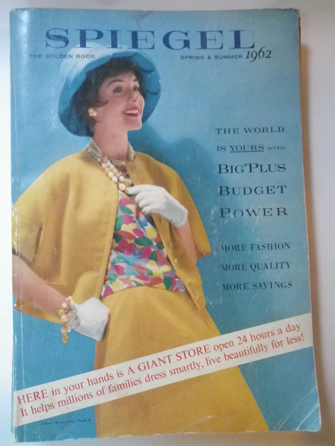Spiegel 24 60s Clothing Catalog Spiegel 60s 1962 Dresses Lingerie Furniture Barbie Doll Bomb Shelter