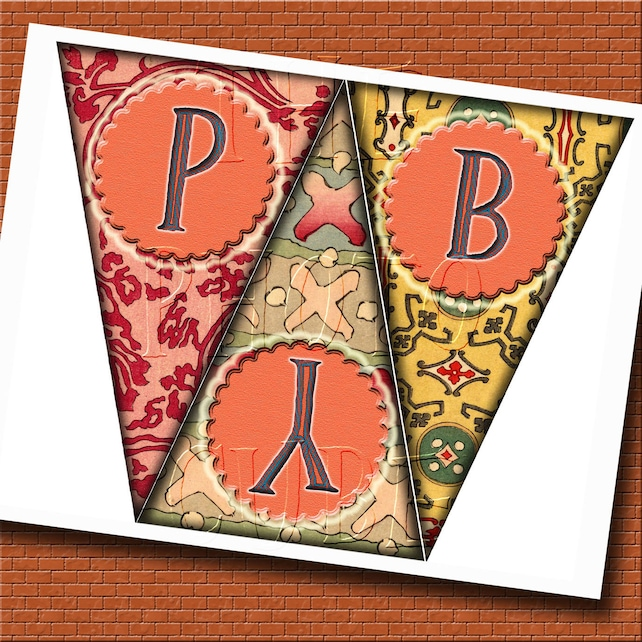 HaPPY BiRTHDAY Pennants/Flags- LaRGE SiZE- 5\