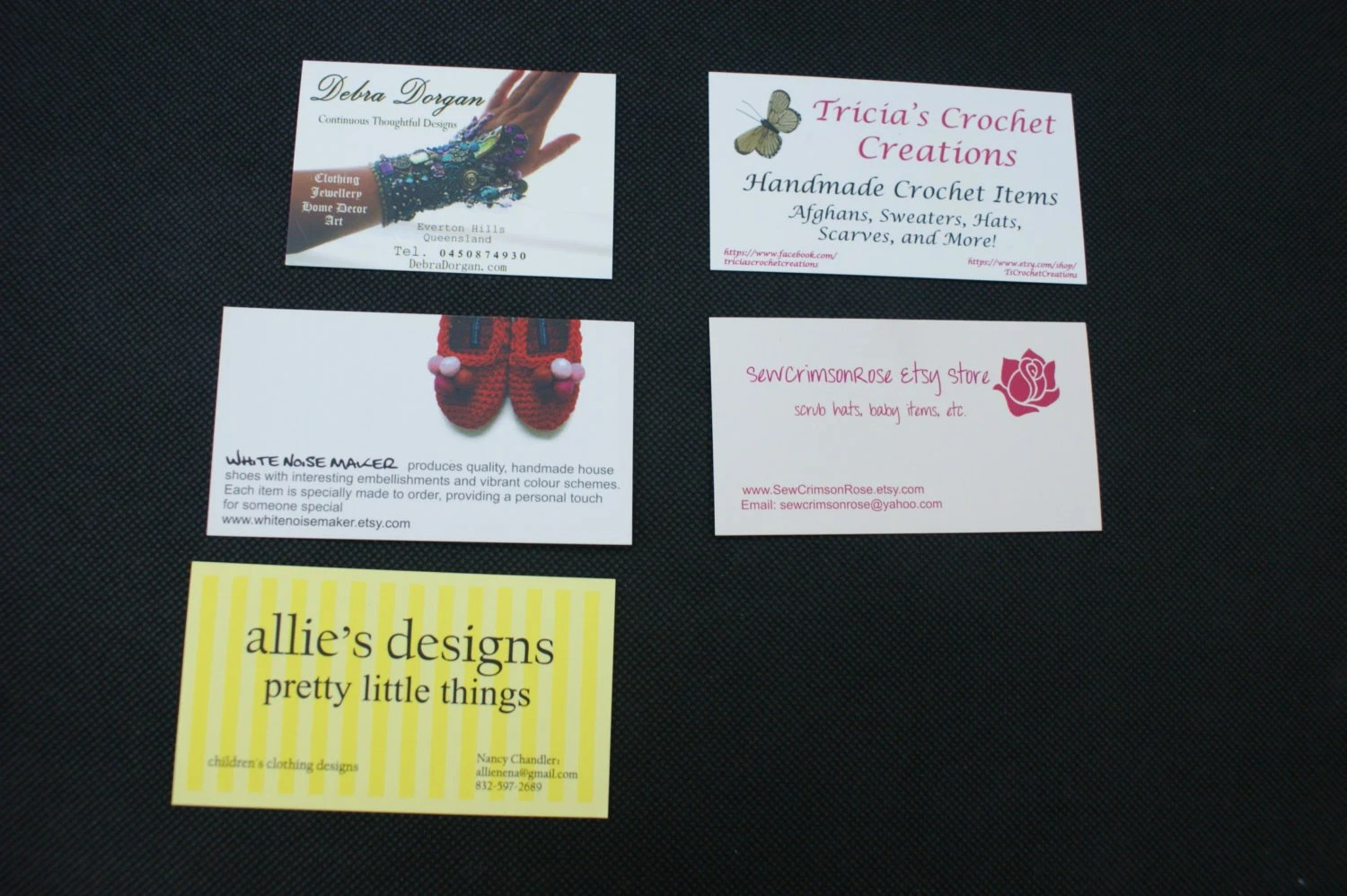 100 Fully custom single page printed Business Cards Free QR Etsy