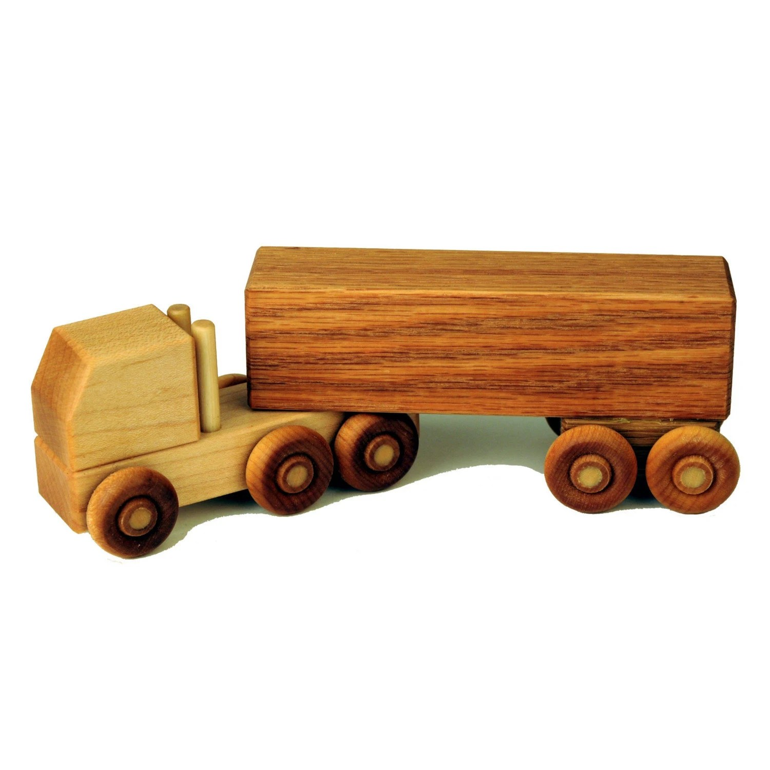 Wood Semi Truck Etsy