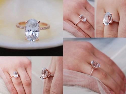Medium Of Blake Lively Engagement Ring