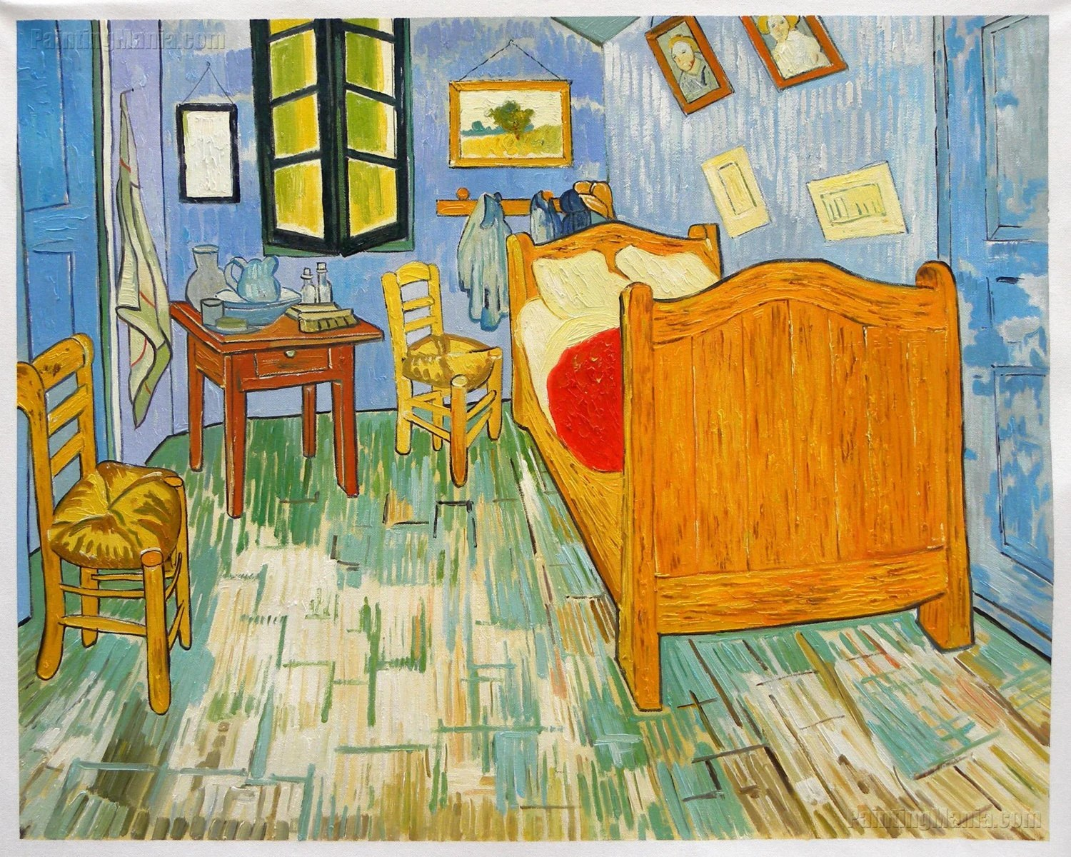 La Camera Da Letto Vincent Van Gogh Vincent S Bedroom In Arles 1889 Vincent Van Gogh Hand Painted Oil Painting Reproduction Bedroom Wall Art Interior Decor Studio Wall Decor