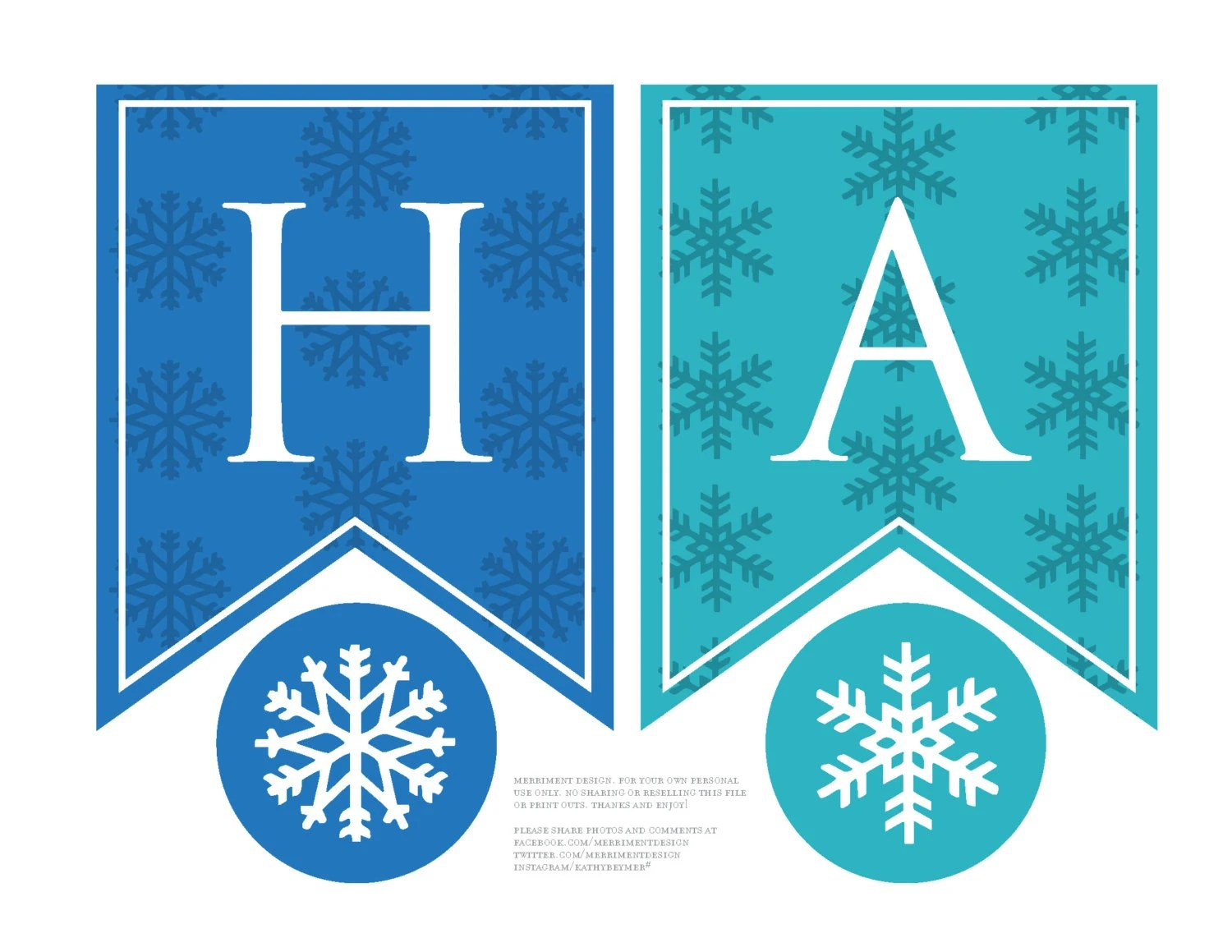 Frozen Birthday Banner personalized printable for a Frozen Etsy