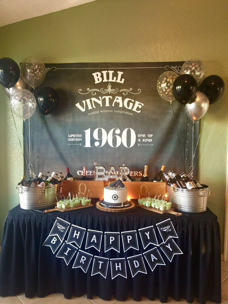 Decor Photobooth 40th Birthday Decor Photobooth Backdrop Vintage Whiskey Birthday 50th Birthday Decor Custom Party Backdrop H T49 Tp Aa3