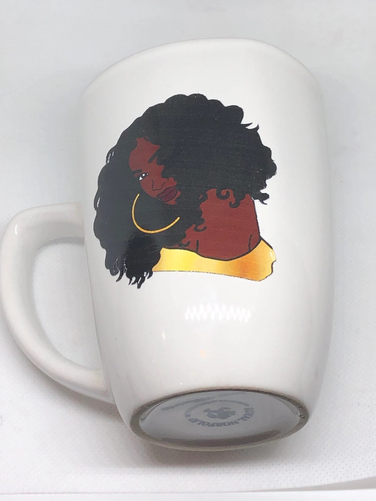 Where To Buy Nice Coffee Mugs Afrocentric Coffee Mug Afro American Coffee Mug Black Woman Boss
