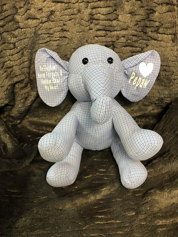 Elephant Deur Elephant Memory Elephant Handmade Elephant Memory Of Loved One Keepsake Elephant Memory Keepsake Loved Ones Elephant Legacy Elephant