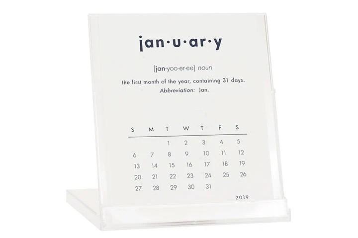 2019 Desk Calendar BUY 2 GET 1 FREE Calendar with Stand Etsy
