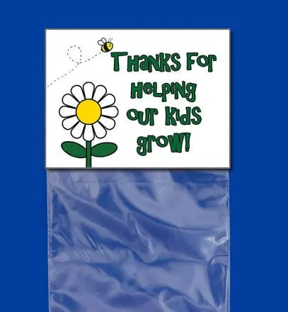 Thanks for Helping Our Kids Grow Bag Topper for Teacher Etsy