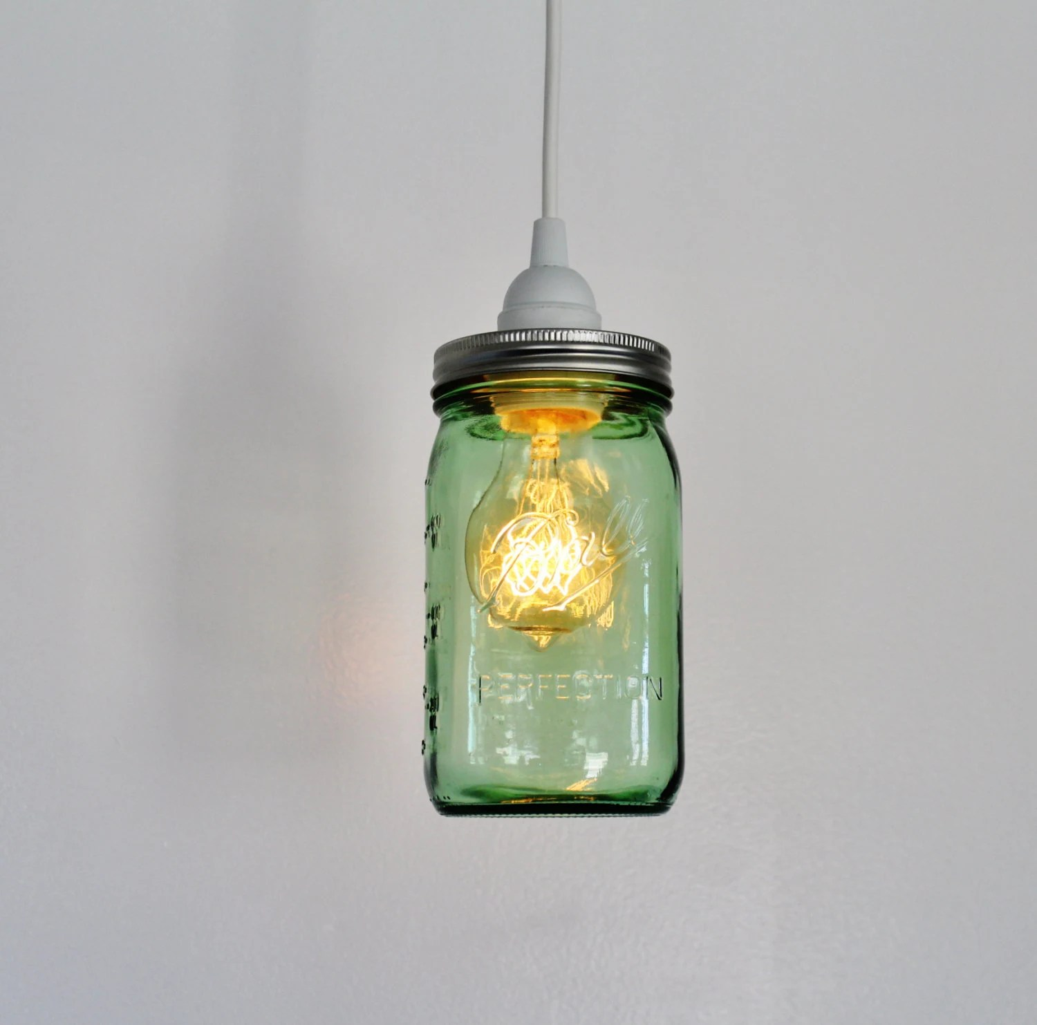Luminaire France Lampe à Suspension Mason Jar Upcycled Suspension Luminaire