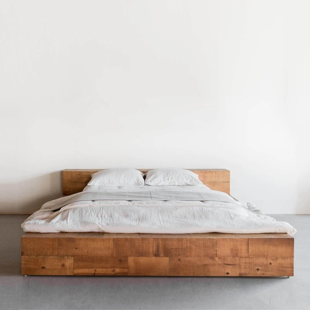 Schlafzimmermöbel Polen Hudson Bed Reclaimed Wood Beam Bed