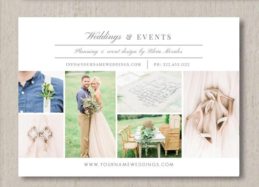Wedding Planner Flyer Template - Event Coordinator Templates